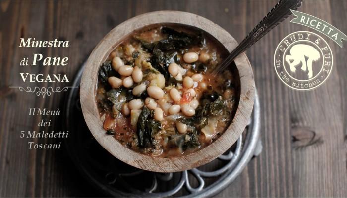 MINESTRA DI PANE | La ricetta vegana senza pomodori.